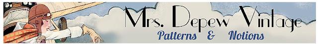 mrs depew vintage banner