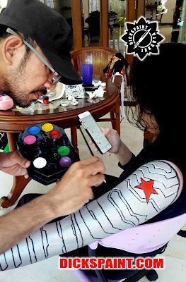 Body Painting Tangerang