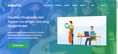 Kerjasama Content Placement Coba SOSIAGO Influencer Marketing