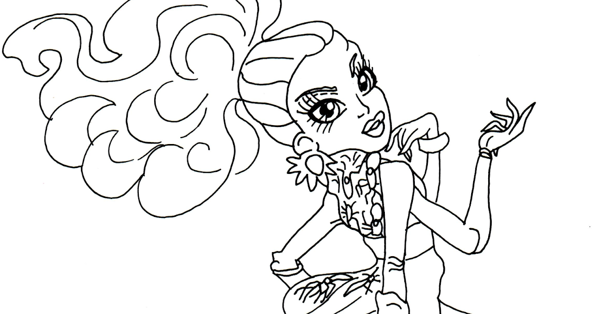Free Monster High Coloring Pages, Download Free Clip Art, Free ...   630x1200