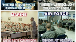 NAVY-MARINE-ARMY-AIR FORCE FUNNY LACK OF COMMUNICATION