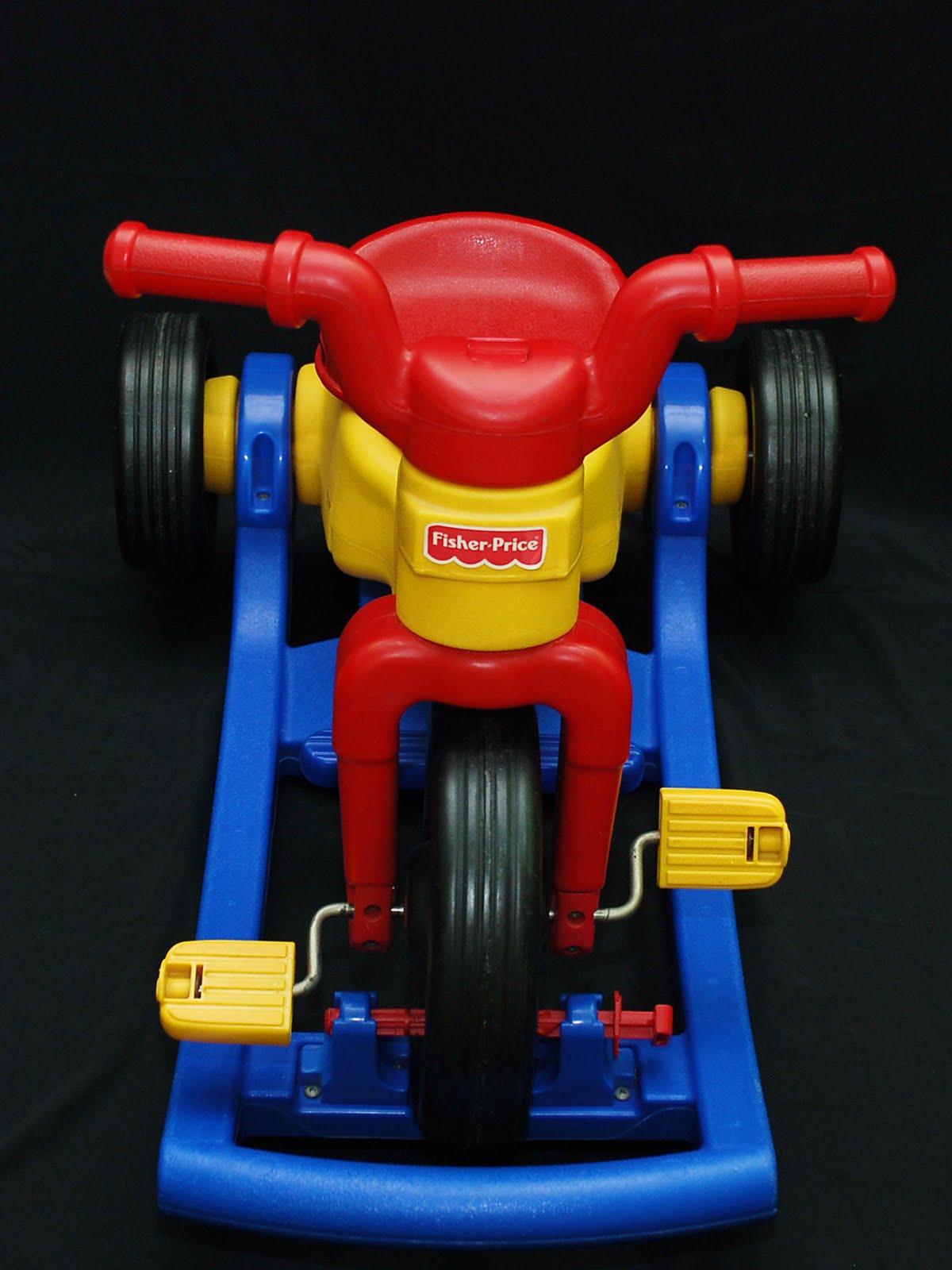 My Baby Fantasy Toyworld Fisher Price Rock Roll N Ride Trike