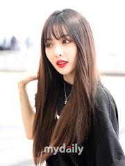 ✰PHOTO✰ Hyuna w drodze do Los Angeles na sesje zdjęciową dla magazynu Grazia