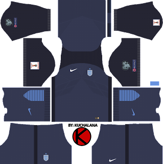 England Nike Kits 2017 - Dream League Soccer 2017