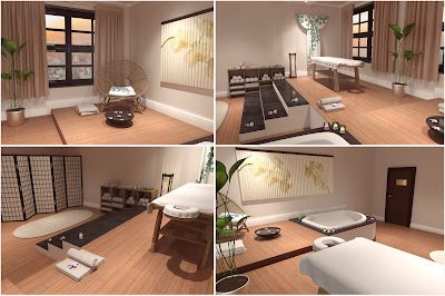 Z Massage Room Poses