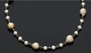 Pearl necklace kasumiga
