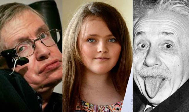 Teenage Girl Has Greater I.Q Than Hawking And Einstein