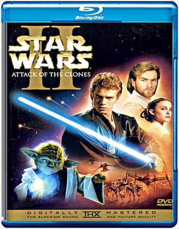 Star Wars – Attack of the Clones 2002 Dual Audio Hindi 480p BluRay 400MB