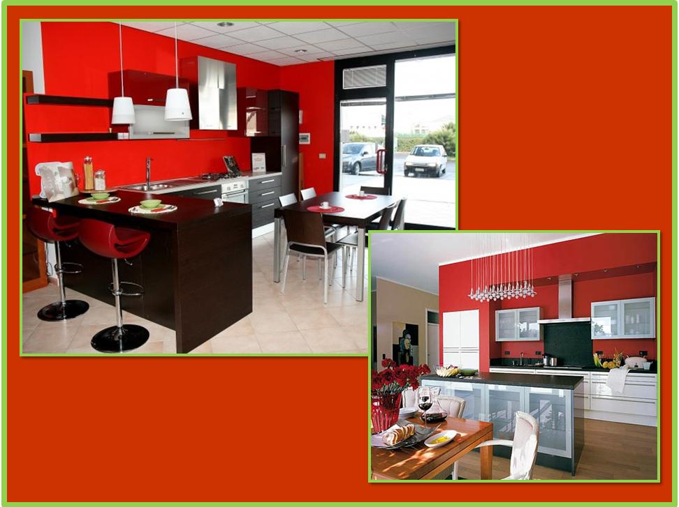 Best colori pareti cucina in legno photos ideas design - Parete colorata cucina ...