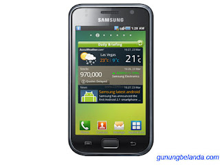 Cara Flashing Samsung Galaxy S Plus GT-I9001