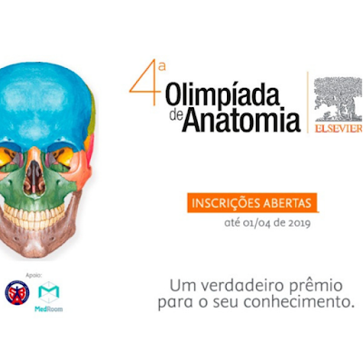 4ª Olimpíada de Anatomia Elsevier #EditoraElsevier #Elsevier