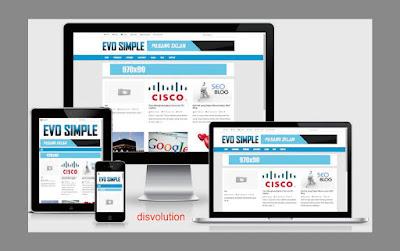 Template Evo Simple Seo Responsive 2017 Download Gratis Buat Kalian