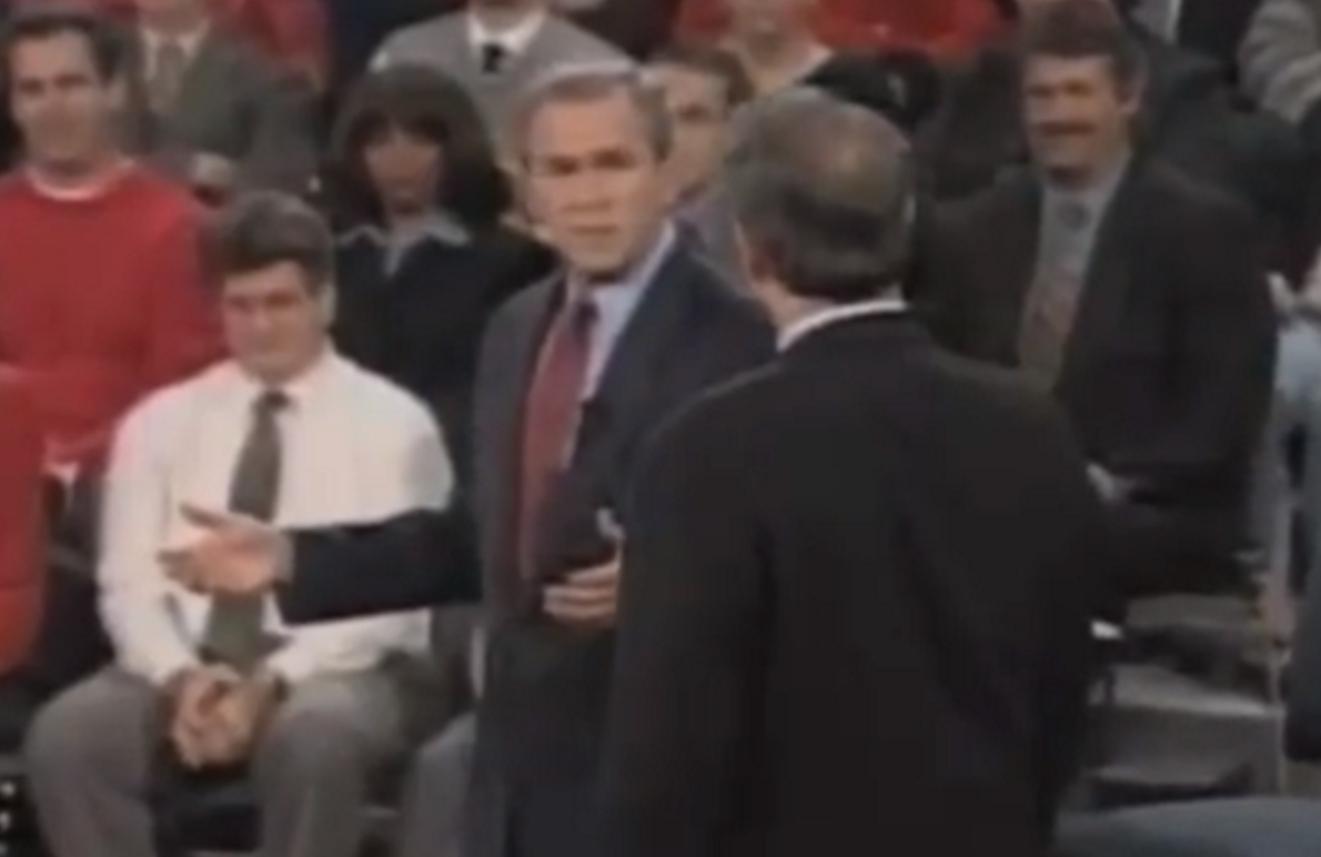 an analysis of the bush gore debate in 2000 The united states presidential election of 2000 was the  for gore, bush led by about  during his second debate with gore in october 2000.