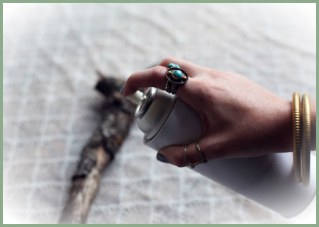 cómo hacer perchas con ramas-el taller de jazmin