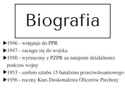 służba Polsce, kariera, współpraca z CIA, żołnierz, Jack Strong, daty, PRL, komunizm