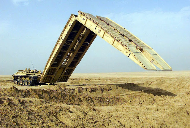 M60A1 Armored Vehicle Landing Bridge