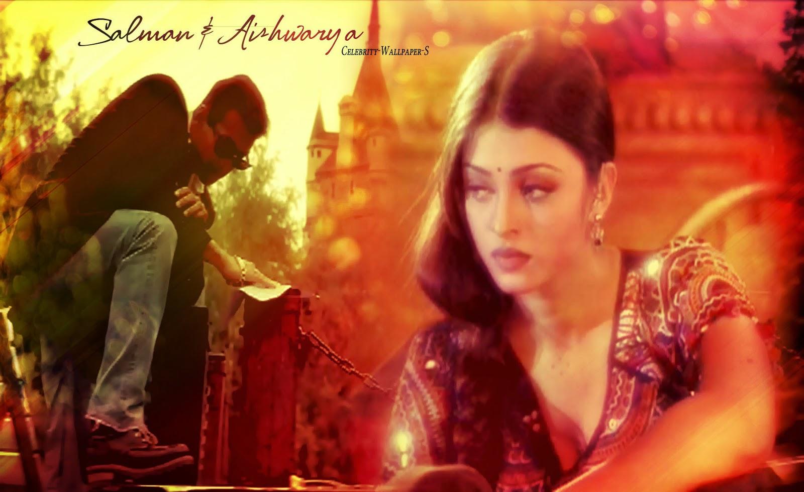 Aishwarya Rai Salman Khan Wallpaper HD Hum Dil De Chuke