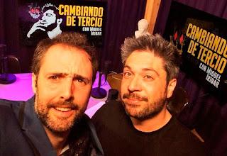 Quique Macías en Cambiando de Tercio, con Miguel Iribar