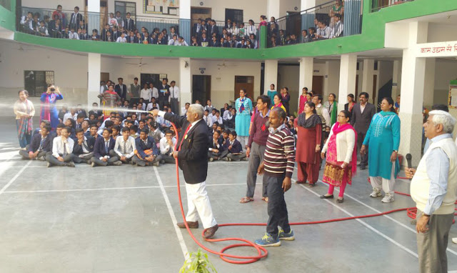 Disaster Management Awareness in Modern Vidya Mandir Senior Secondary School, Bhud Colony, Faridabad