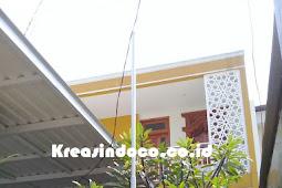 Repeat Order Bpk Hendro di GDC Depok Pembuatan Tiang Bendera dan Teralis