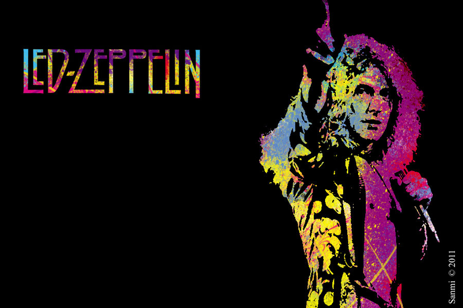 Metalpaper Wallpapers Led Zeppelin
