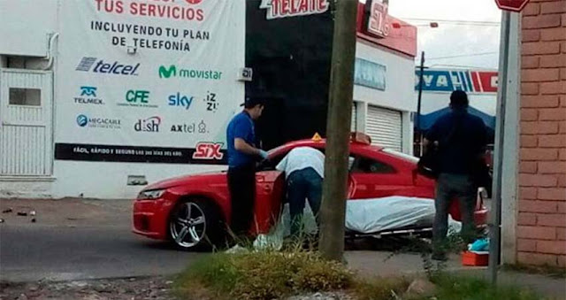 A bordo de lujoso Audi deportivo ejecutan a un sobrino de Javier Torres Félix en Culiacán