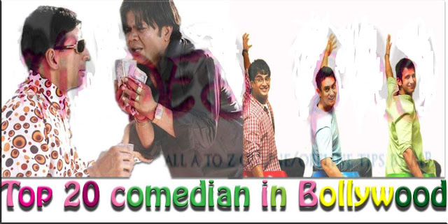 top 20 Bollywood comedians