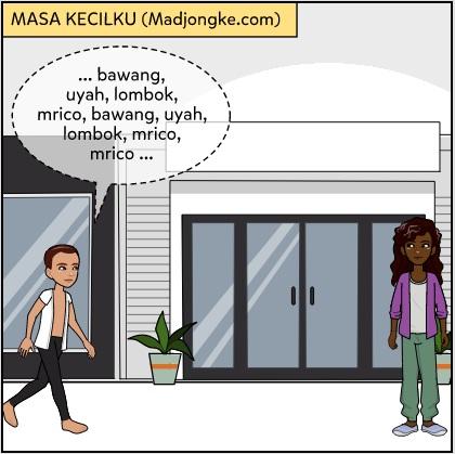 komik masa kecil bahasa jawa
