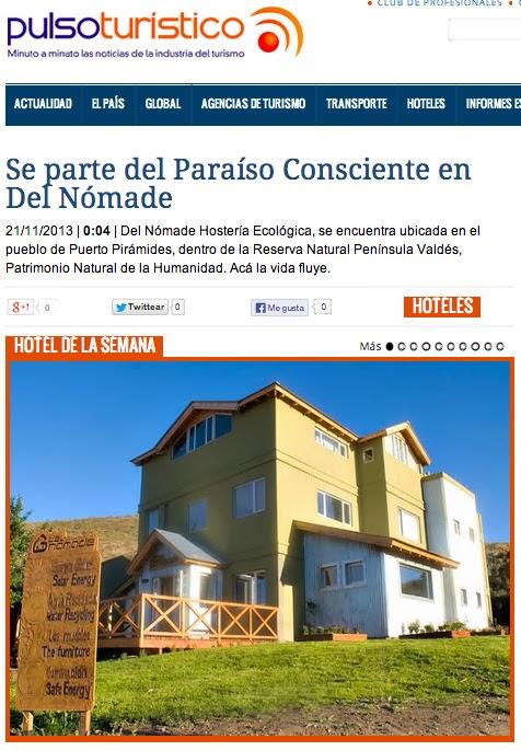 Hotel de la Semana de Argentina en Peninsula Valdes