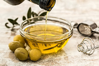Mascarilla de aceite de oliva para piel seca