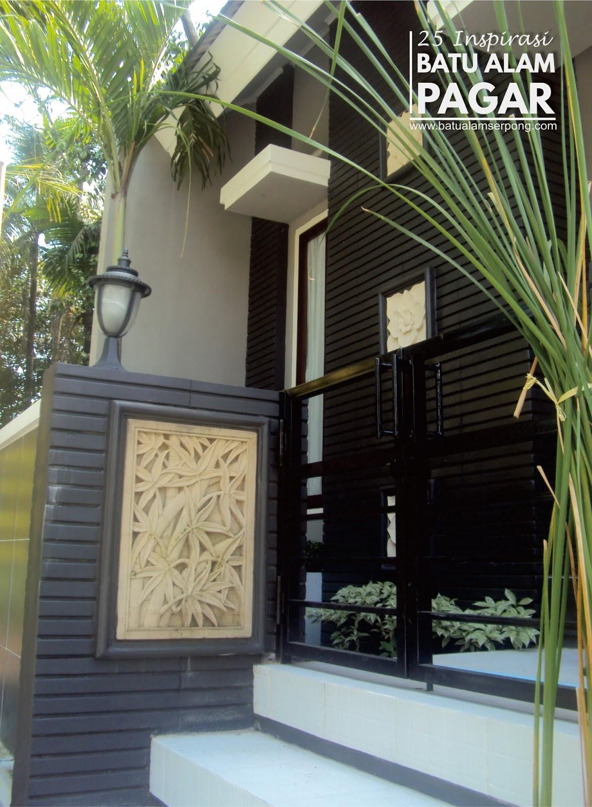 Pagar Rumah Batu Alam : pagar, rumah, PENGEN, INSPIRASI, DINDING, PAGAR, TERLENGKAP, DIJAKARTA