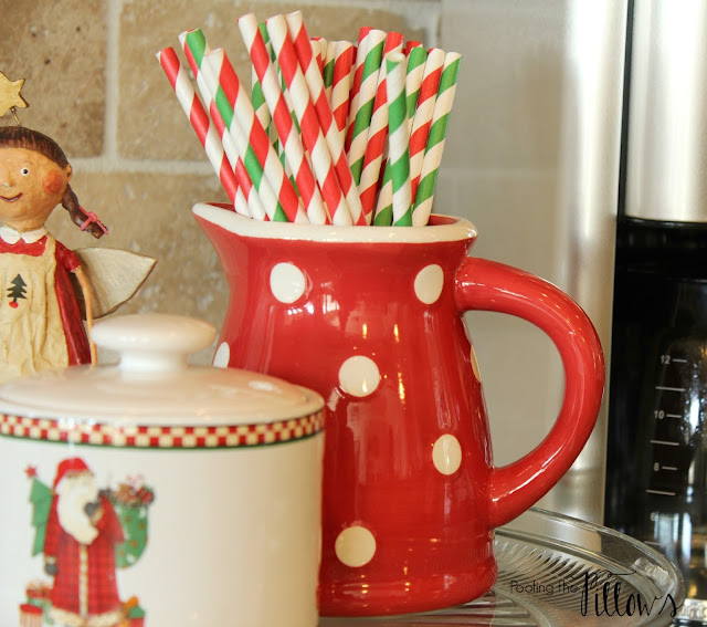 Christmas in the kitchen, Christmas in Texas Blog Hop hosted by Poofing the Pillows