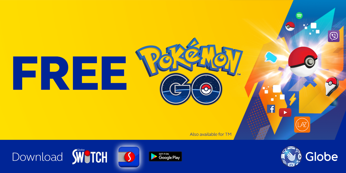Pokemon GO Lure Drop Party by Globe and Ayala Malls