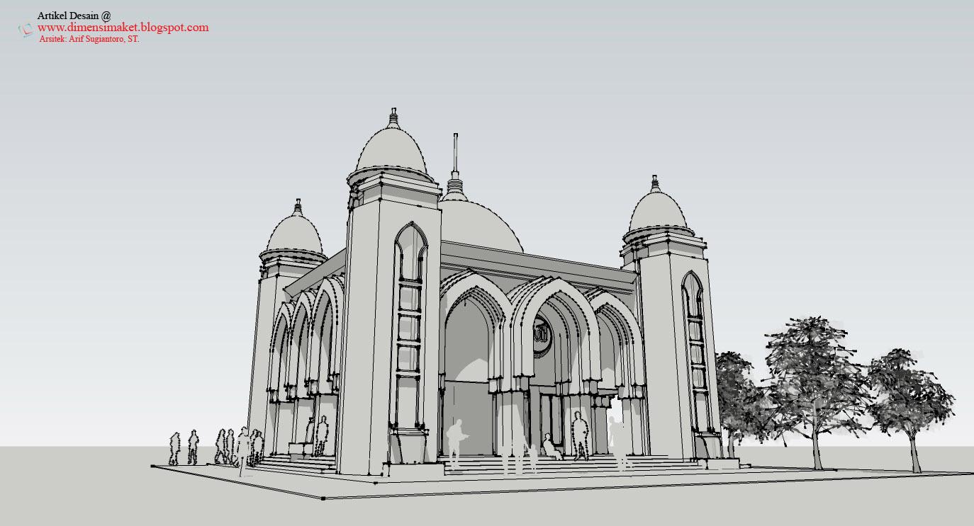 Masjid Animasi Nusagates