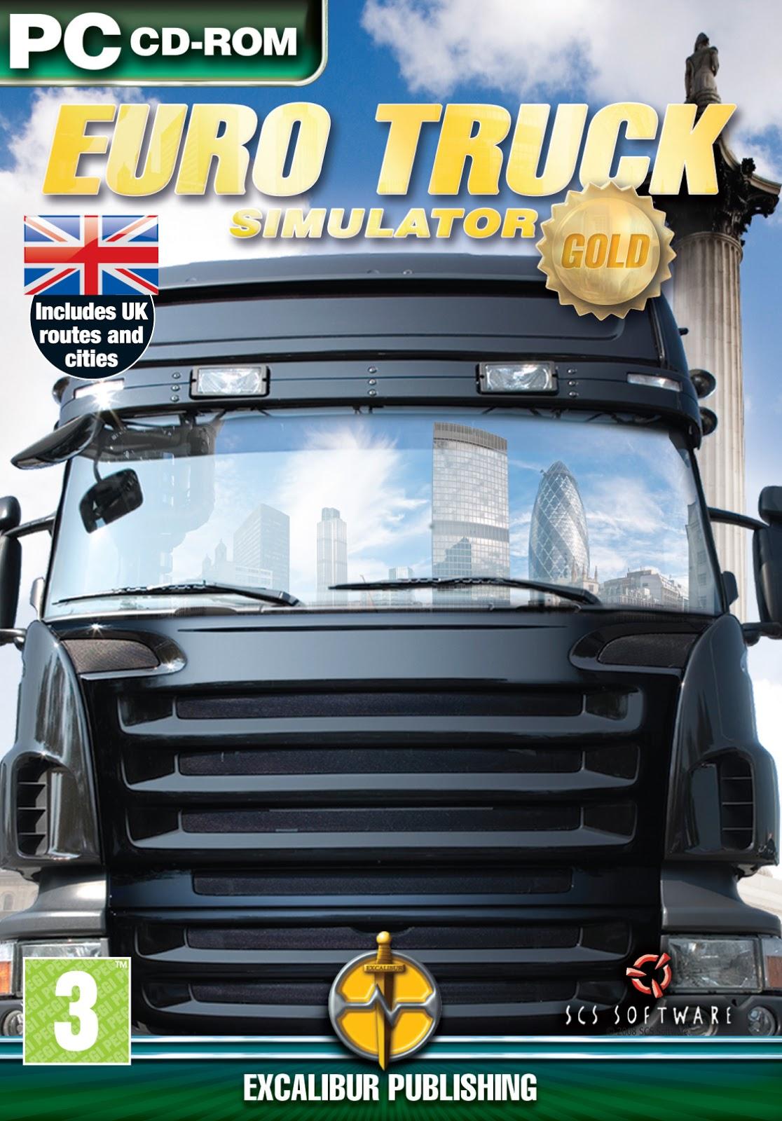 Descargar Euro Truck Simulator gold pc full español por mega y google drive /