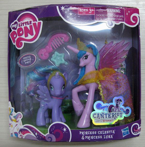 My Little Pony G4 Princess Luna And Princess Celestia