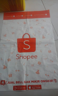 plastik pembungkus shopee