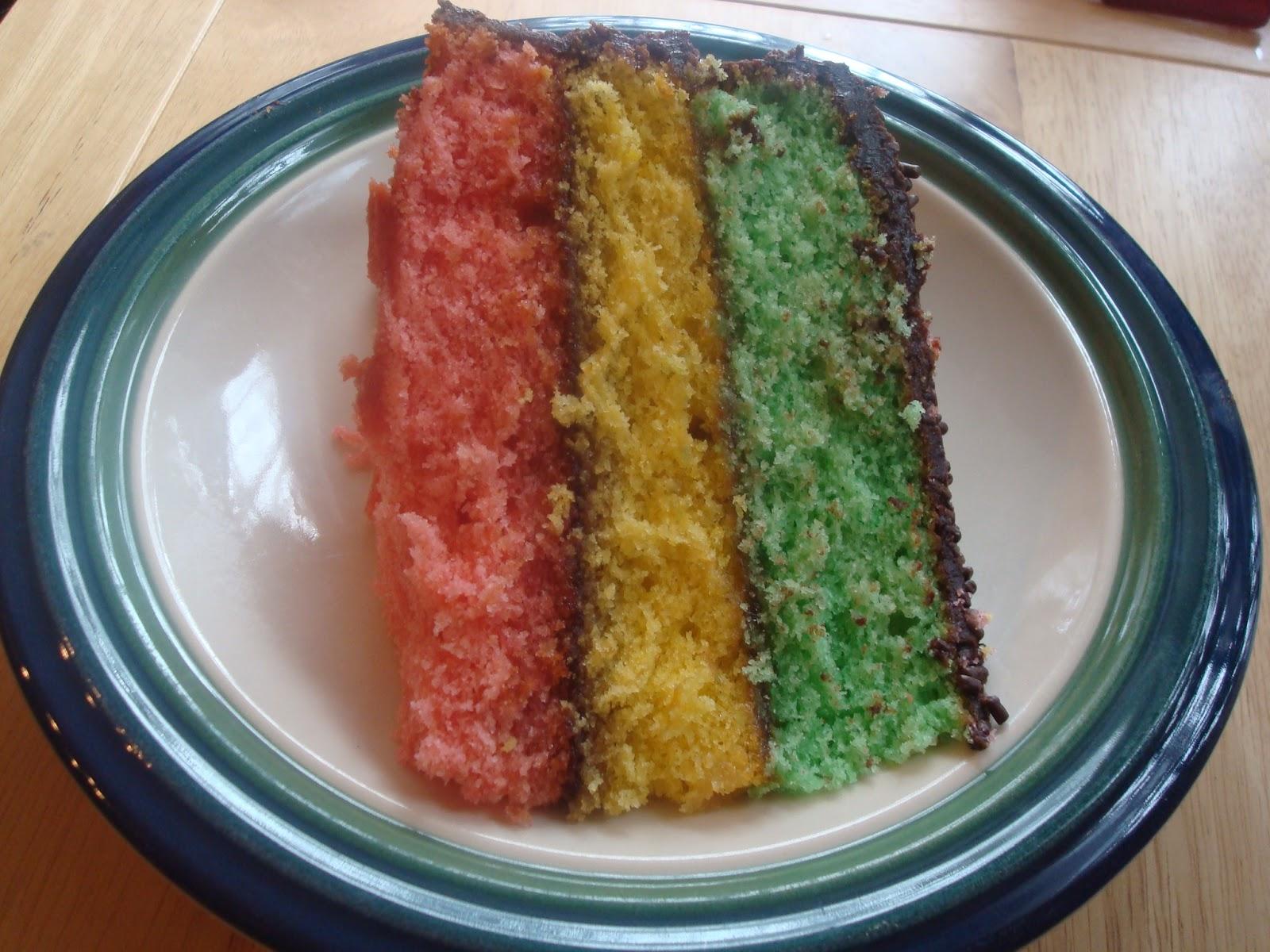 Rainbow Cake Recipe Italian: Mocha Me: Italian Rainbow Cookie Cake