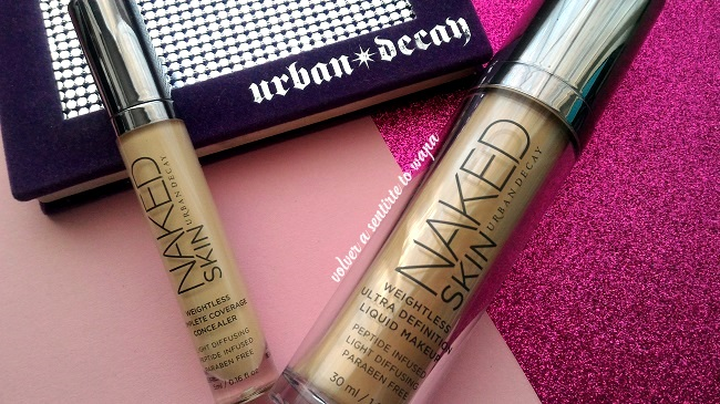 Gama Naked Skin de Urban Decay - Corrector y Base de Maquillaje