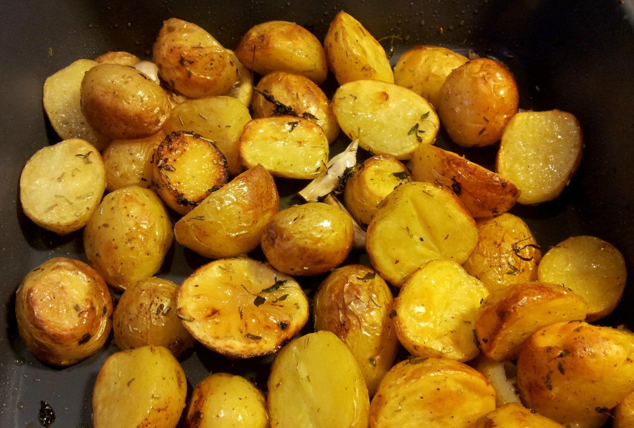 kartofler i ovn med rosmarin
