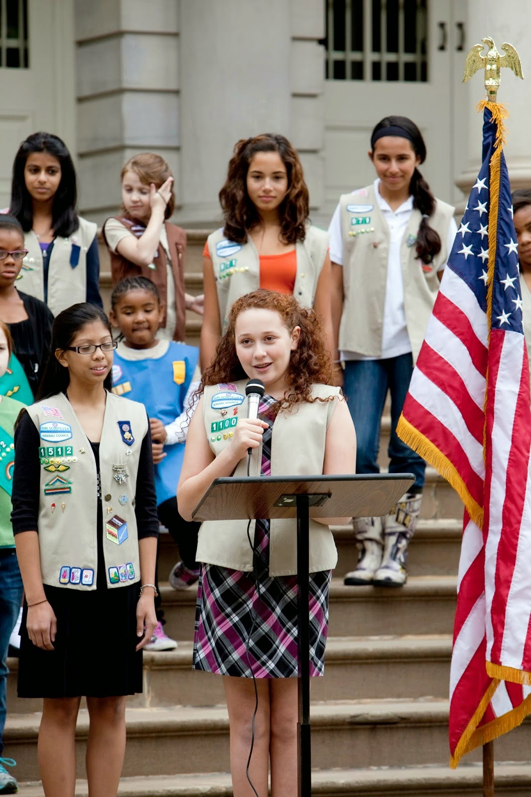 Girl Scout Cookie Nail Art: Lessons In Leadership: Girls See Themselves In Politics