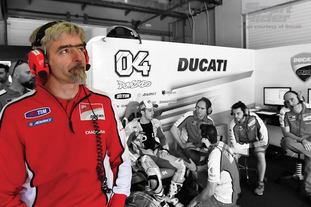 berita motogp Bagi Ducati, Dovizioso dan Lorenzo, tidak ada yang spesial