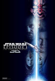 SW La amenaza fantasma 3D poster 2