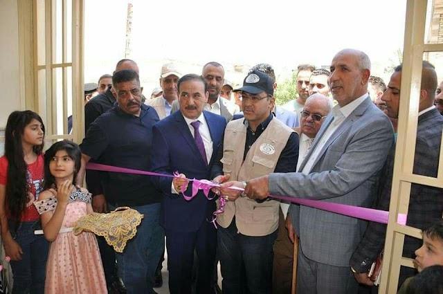 تربية الرصافة الاولى تفتتح بناية ثانوية في منطقة الحسينية.