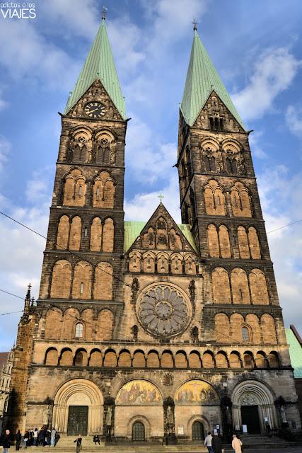 Fachada de la Catedral de Bremen