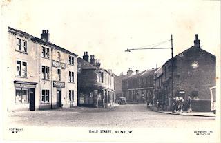 Corner of Dale Street, Milnrow, old photo