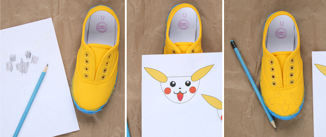 diy pokemon shoes