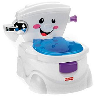 Newer version of the Fisher Price Cheer For Me Potty