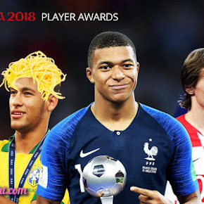 fifa player awards premio jugadores mbappe modric neymar curtois
