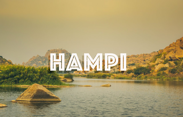 Weekend getaway to Hampi, A UNESCO world heritage site.